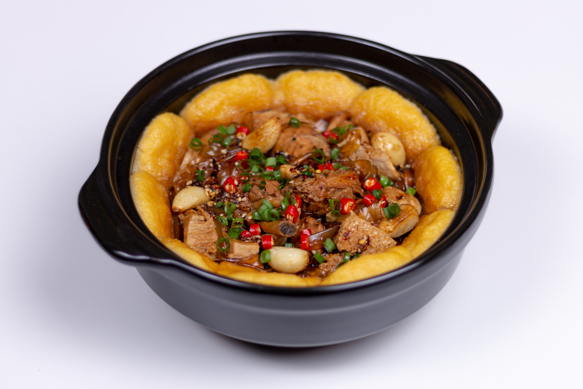 Clay Pot Chicken with Cornbread