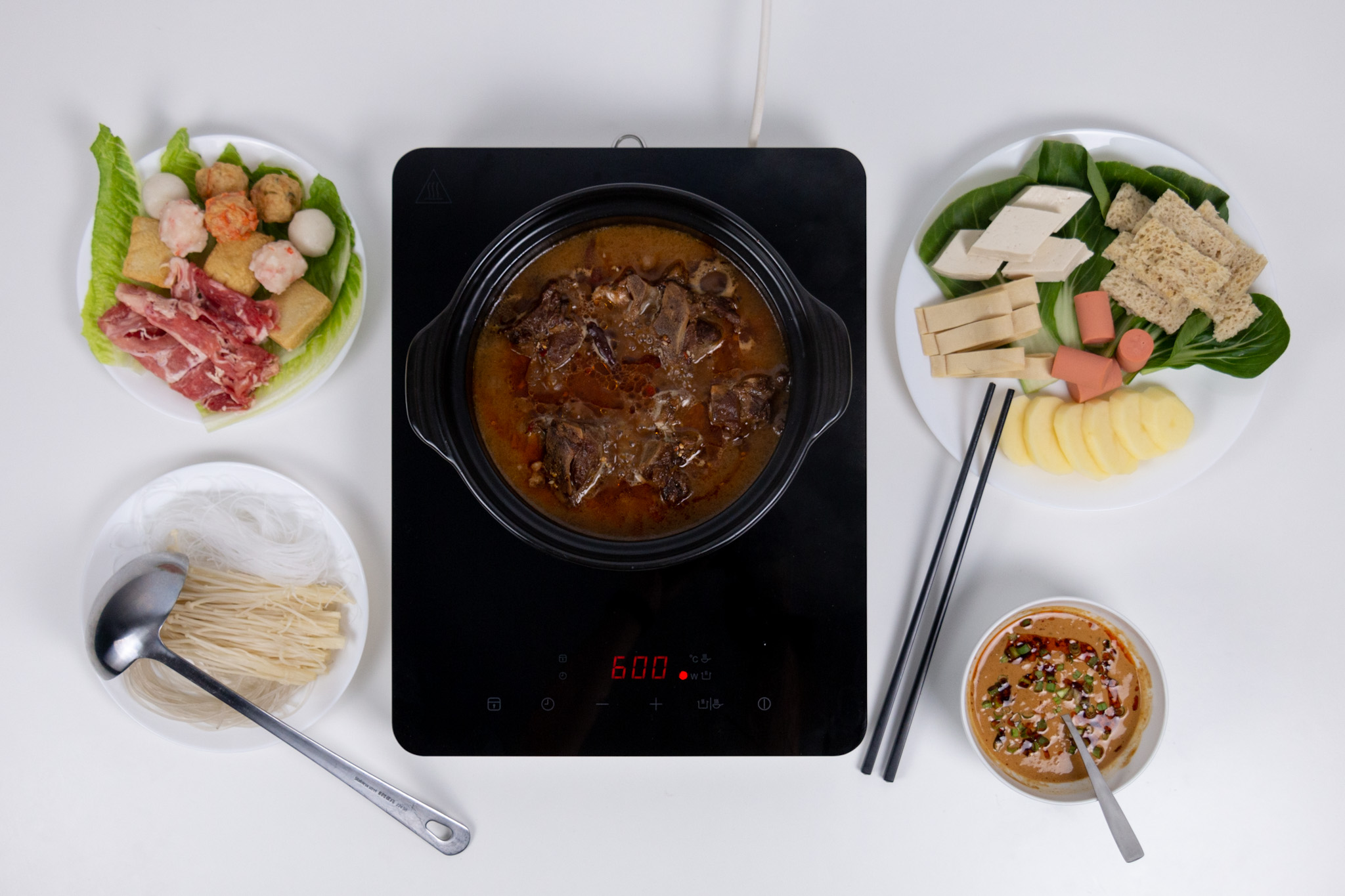 Lamb Spine Hot Pot
